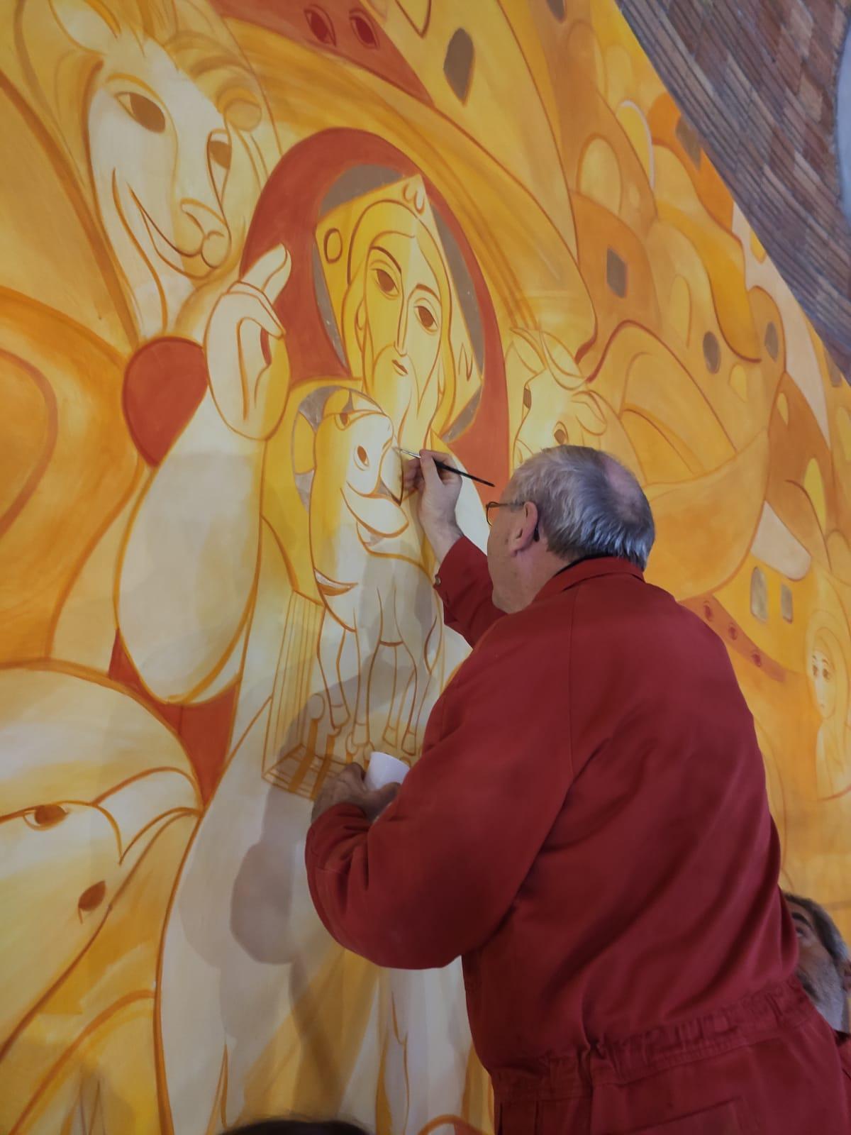 Dipinto Centro Aletti: fine lavori