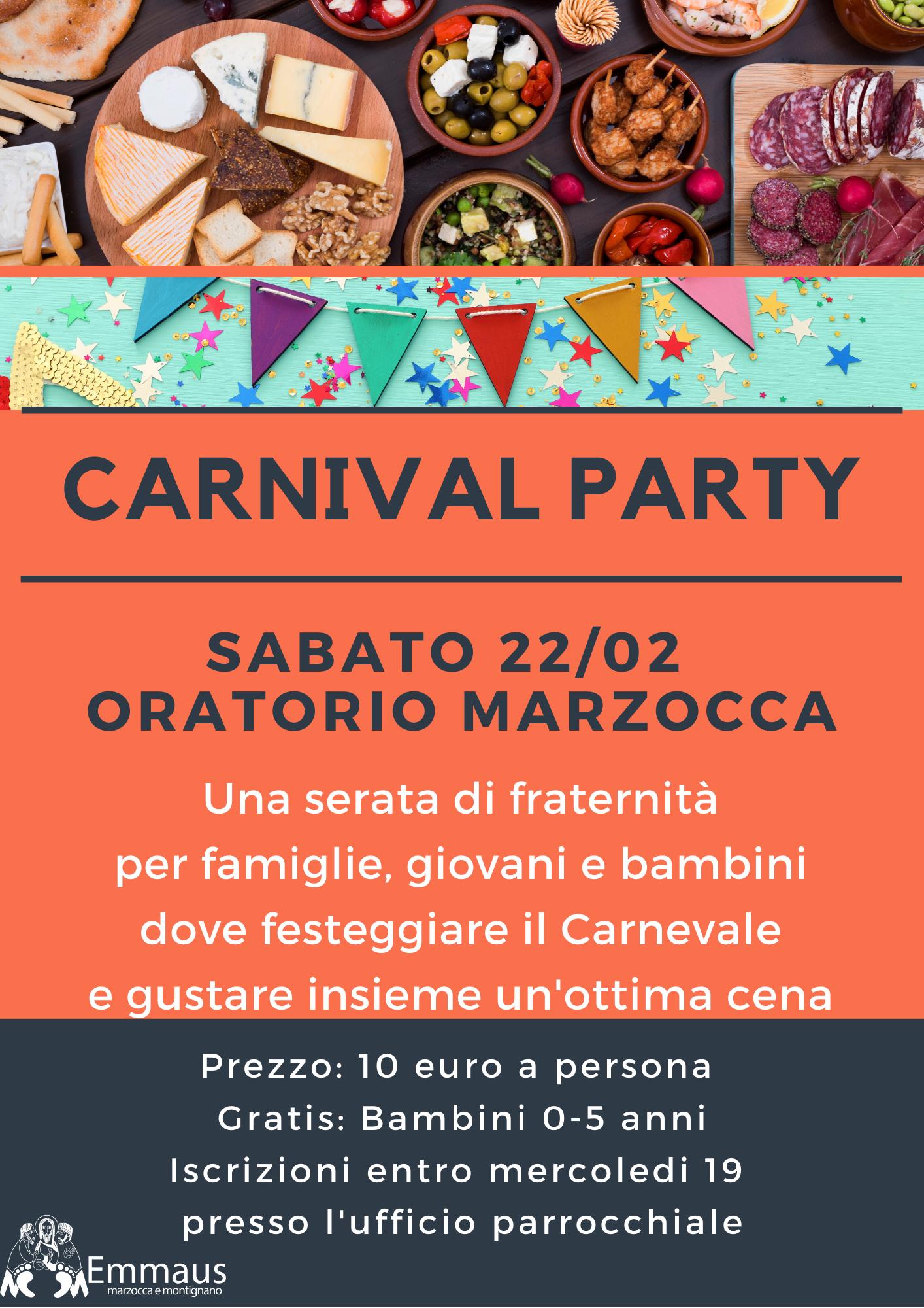 Unità Pastorale: Carnival Party