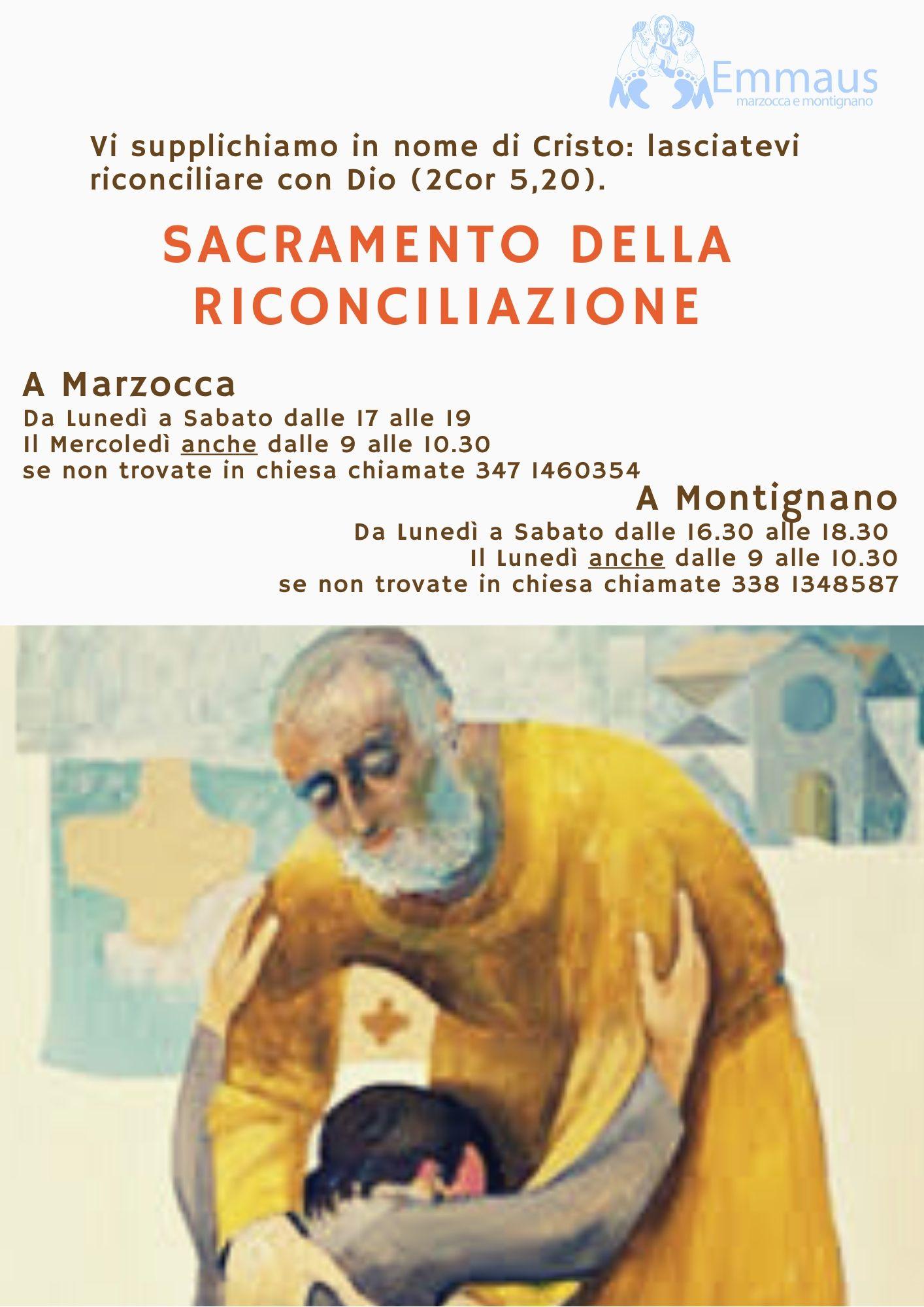 Confessioni e Sacramento della Riconciliazione