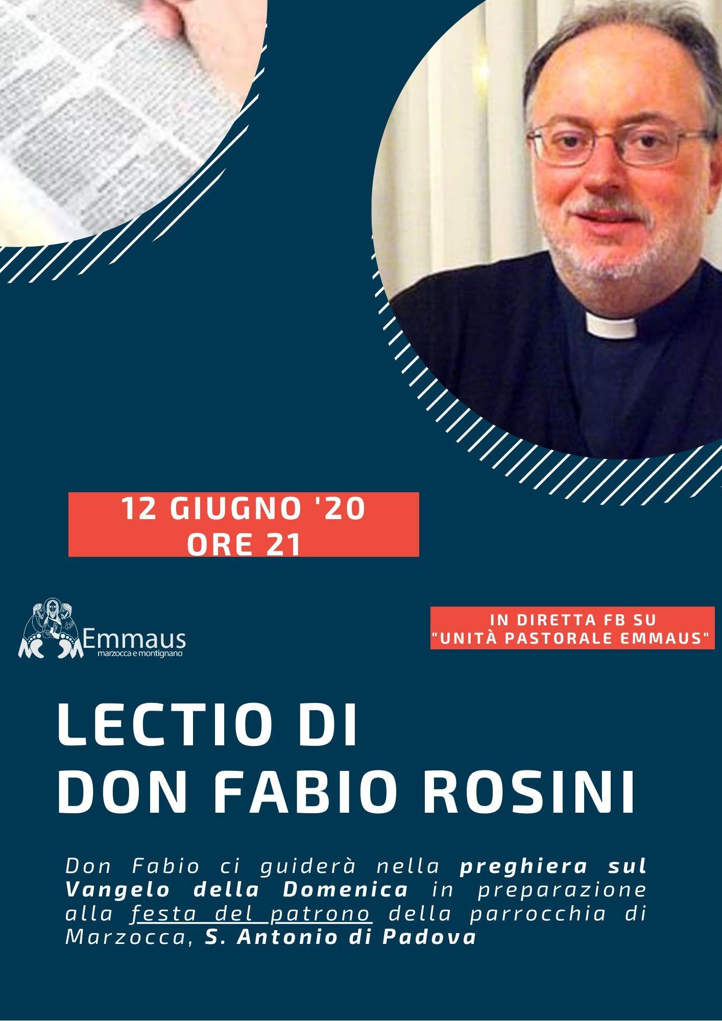 Lectio Divina di don Fabio Rosini