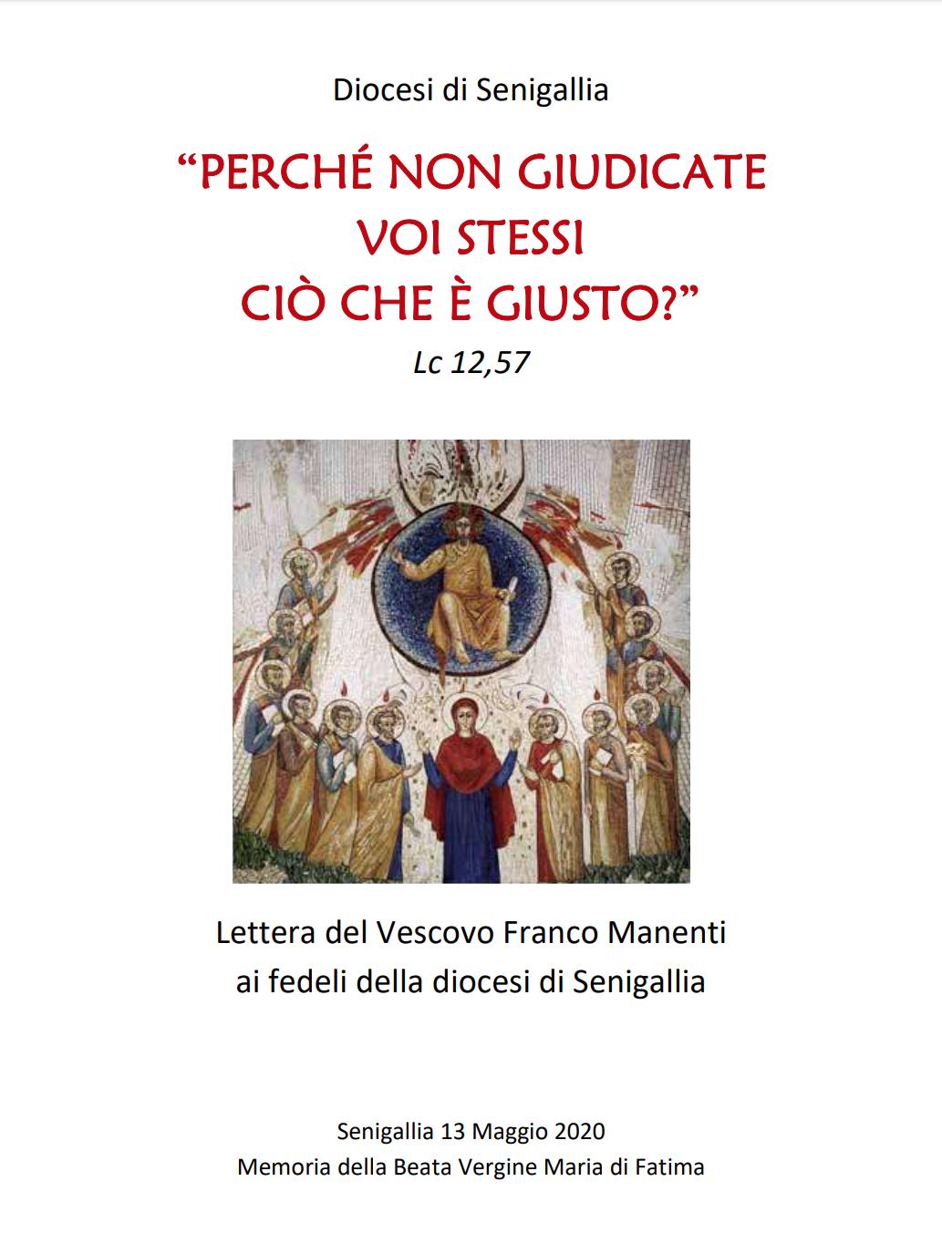 Lettera Pastorale del Vescovo Franco